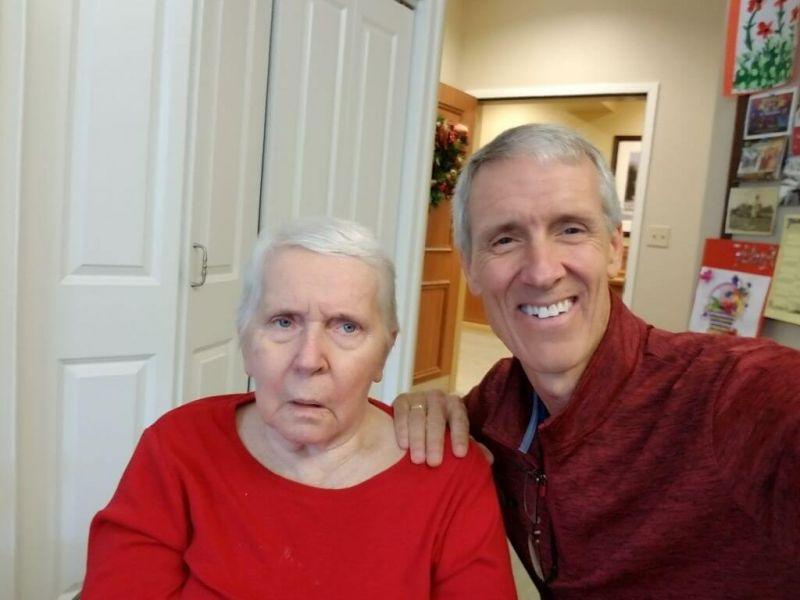 David And Mom