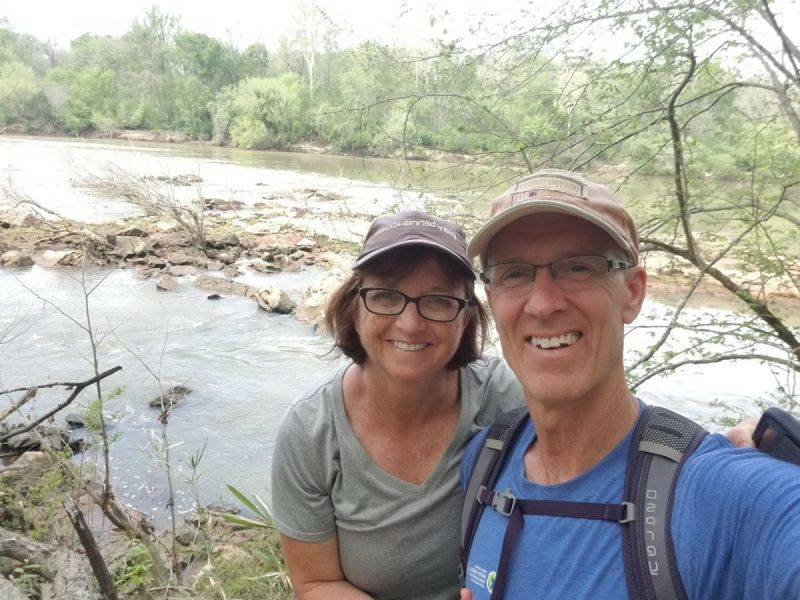 First hike of 2021 in Harbison forest