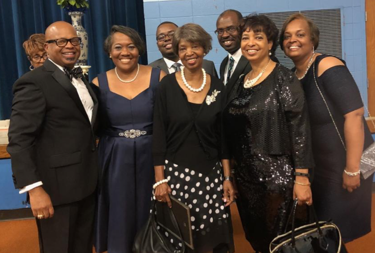 Event honoring Mom with other faithful church and conference workers