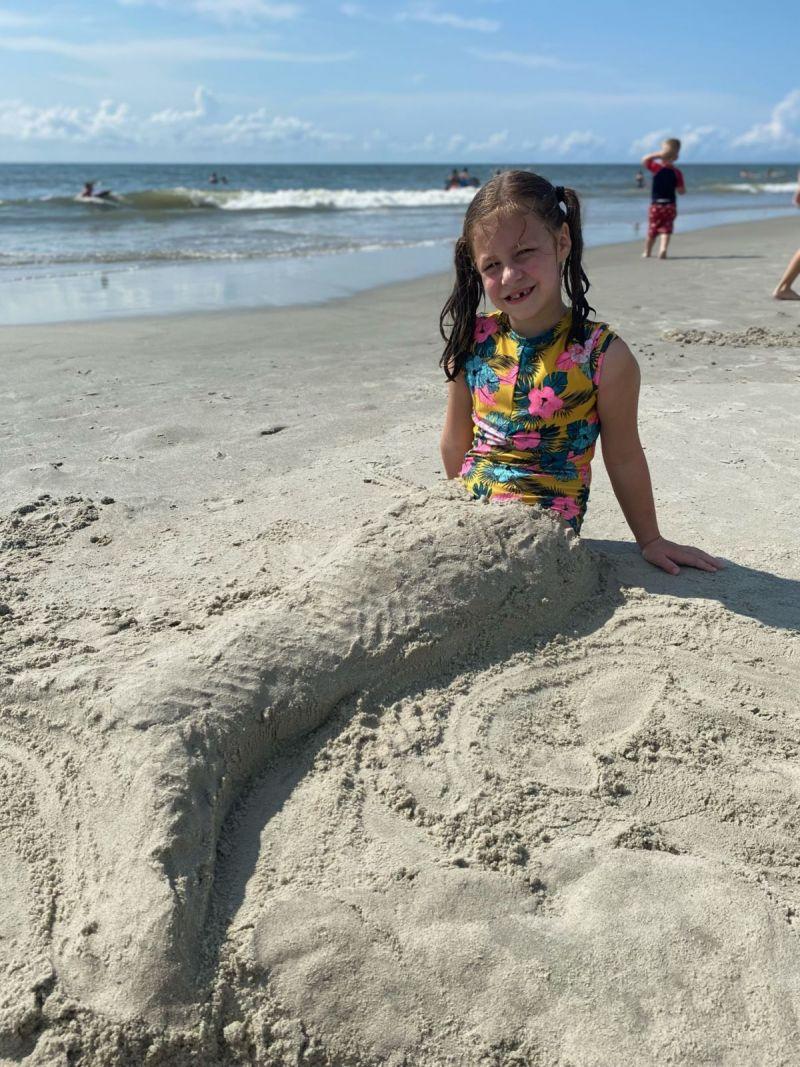 Our little mermaid Lillian