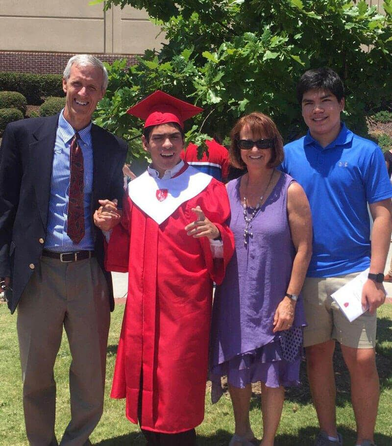 It's Official - We Have A High School Graduate