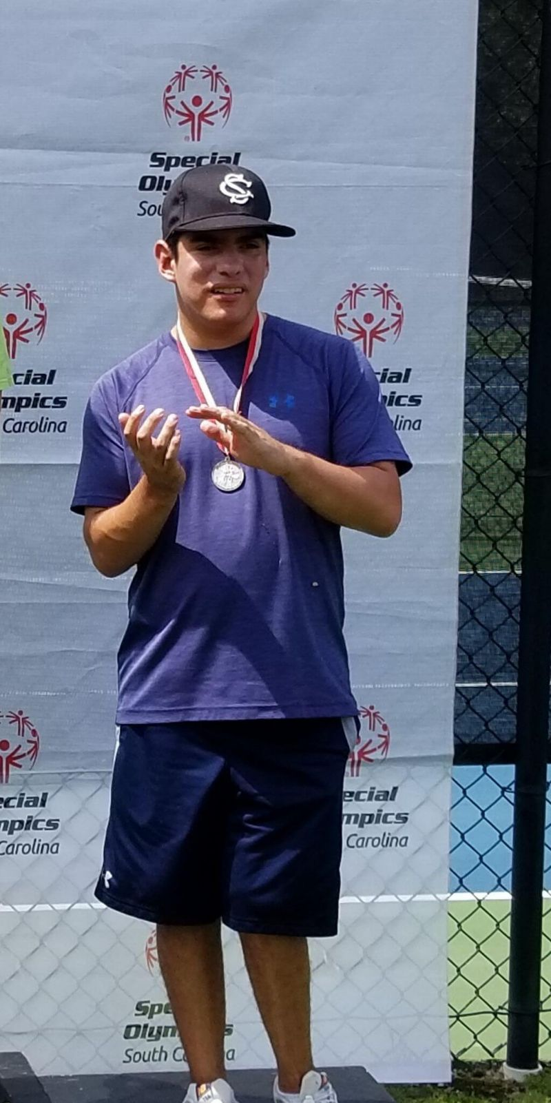 Special Olympic Silver Medal